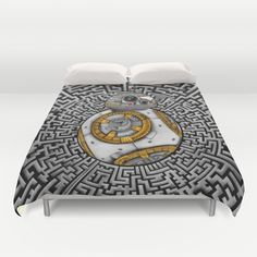Aztec BB8 BB-eight droid robot iPhone 4 4s 5 5c 6, pillow case, mugs and tshirt @society6 #duvetcover #aztec #bb8 #droid #robot #hansolo #leia #skywalker #trooper #starwars