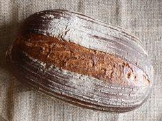 Brot Schwarzbierbrot selbstgebacken Bread Bauernbrot
