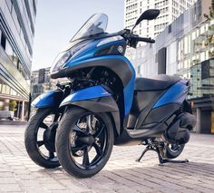 BANGKOK, 7 Juni 2016 – Yamaha Tricity 155 resmi mengaspal di negeri Gajah Putih, Thailand. Varian skuter dengan dua roda di bagian depannya ini hadir sebelumnya dengan varian mesin 125cc dan cukup baik diterima pasar sepeda motor di Thailand. Kabar terbaru menyebutkan jika skutik bongsor ini juga siap beredar di Eropa. Saat ini, skuter bertipe