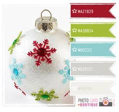 I like this palette from Photo Card Boutique, wonder if it would look good with a mossy green instead of the bright? Colour Pallette, Color Palate, Color Combos, Color Schemes, Christmas Palette, Christmas Colour Schemes, Noel Christmas, Green Christmas, Modern Christmas