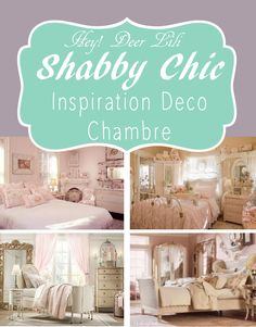 mcd inspiration pour une chambre shabby chic - Deco Shabby Chic Blog