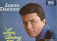 1962 Lp James Darren LOVE AMONG THE YOUNG On Colpix CP 428 TEEN ROCK.. Even more than the typical teen idol, James Darren's roots in authentic rock & roll were tenuous. Darren began recording for Colpix in the late '50s at the beginning of a screen career that saw him star in numerous films, most notably Gidget. More at home with standard MOR, show tune-like material than rock, and not much of a singer in any case.