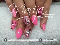 a lot of rinestones by marija7 - Nail Art Gallery nailartgallery.nailsmag.com by Nails Magazine www.nailsmag.com #nailart