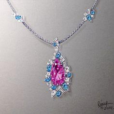Ice necklace, 2014. #jewelryart #remyrotenier #jewellery #jewelry…