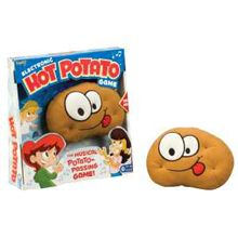 Hot Potato Game - This game is accessible for children that are sighted or blind.  All students stand in a circle and pass the potato around until the music stops.  It makes music so that the kids that are blind can hear it as it goes around the circle towards them.  This can be used in an open space inside or outside on a nice day.