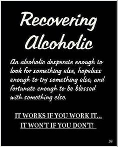 Alcoholic Quotes Glamorous Sponsorship ❤  ~*sober Life*~  Pinterest  Recovery . Inspiration Design
