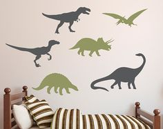 Dinosaur Muur Sticker Jongens Muur Sticker Dinosaur Sticker - Custom vinyl wall decals dinosaur