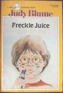 Freckle Juice by Judy Blume #JuvenileFiction