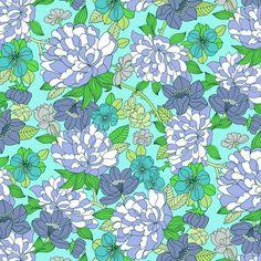 Liberty-Copeland D - Pale Blue Colour Palette