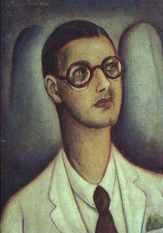 Retrato de Rui Ribeiro Couto 1920 | Vicente do Rego Monteiro óleo sobre tela, c.s.e. 48.50 x 35.00 cm Coleção Gilberto Chateaubriand - MAM RJ