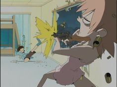 FLCL is full of awesome.