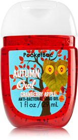 Autumn Owl PocketBac Sanitizing Hand Gel - Soap/Sanitizer - Bath & Body Works