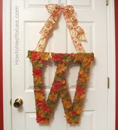 My favorite time of the year is almost here! Yep, cooler weather, football, pumpkin spice lattes, bonfires, and of course fabulous fall decorations! I'm preparing to create my own fall wreath this next week, but thought I'd share some fantastic inspiration with y'all! So here's 15 of my favoriteFALL WREATHSto get you in the mood …