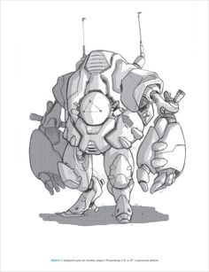 ROBOTS_1.0 by Dan Bolinski, via Behance