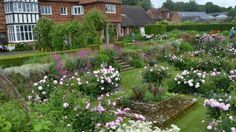 images of gertrude jekyll's garden | The restored Gertrude Jekyll garden at Manor House in Upton Grey ...