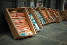 Penguin books outside Main Point Books