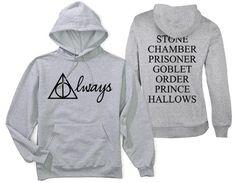 Harry Potter Hoodie. Harry Potter . Always Harry Potter Hoodie . Harry Potter Always . Always Harry Potter . Harry Potter Always Hoodie . on Etsy, $35.00