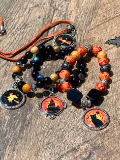 Going to a Halloween party? How about a Bat necklace Or Black cat Bracelet. Maybe a haunted house bracelet or witch bracelet. Choose yours! Other Halloween Jewelry available. Take a L👀K! #halloween #halloweendecor #halloweenjewelry #witch #haunted #spooky #spookyseason #jewelry #handmade Halloween Party, Halloween Decorations, Halloween Jewelry, Witch, Etsy Seller, Take That, Bohemian, Beaded Bracelets, Cat