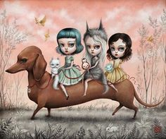 Dance Of The Innocent On The Wolf Jana Brike - Google Search