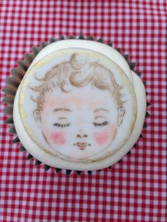 Designed, handmade hand painted by Stace x Cupcake Cakes, Cupcakes, Hand Painted Cakes, Lady, Handmade, House, Hand Made, Home, Homes