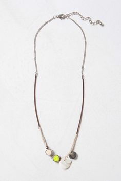 Bijouterie Layering Necklace, Lime   Anthropologie.eu