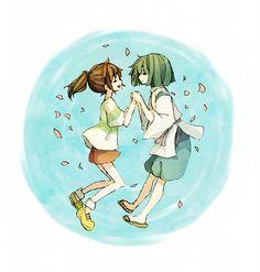 Tags: Anime, Spirited Away, Haku, Studio Ghibli, Ogino Chihiro
