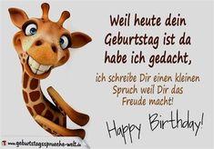 Lustige Geburtstagswunsche Spruche Pinterest Happy Birthday