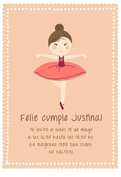 Te invitamos a bailar con Justi