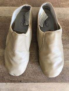 321ded913d3a0 Revolution Dancewear Stretch Slip-on Jazz Shoe - Tan Size 7 AD M  fashion