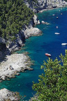 Marina del Cantone, Termini, Campania, Italy