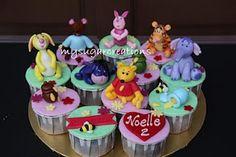 My Sugar Creations: Winnie The Pooh Cupcakes - Noelle