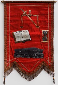 Independent Order of Odd Fellows (IOOF) Third Degree Banner (1882)