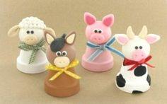 Clay Pot Crafts cute in baby's room
