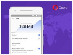 Opera says it has started testing a free, unlimited VPN feature in its Android browser, available now for beta users worldwide Internet Explorer, Opera Mini Android, Opera Browser, Android Web, Navigateur Web, Web Mobile, Public Network, Up And Running, Best Games