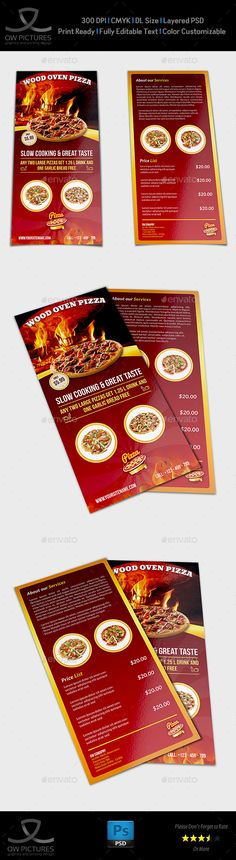 Restaurant Flyer Template Vol15 - Restaurant Flyers Food Flyer - restaurant flyer
