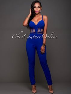 Chic Couture Online - Izina Royal-Blue Bustier Padded Jumpsuit.(http://www.chiccoutureonline.com/izina-royal-blue-bustier-padded-jumpsuit/)