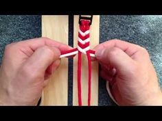 "Make a ""4 Strand Fishtail"" Survival Paracord Bracelet - Bored Paracord - YouTube"