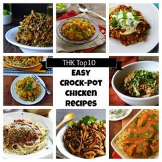 Top 10 Easy, Healthy Crock-Pot Chicken Recipes