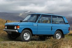 This is a great example of a Classic Range Rover