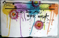 Louise's Art Journal: Weeks 2 - 3, 30 Days in Your Journal with Julie Fei-Fan Balzer