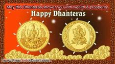 May Dhanteras Festival. Wishing you with Wealth & Prosperity As you journey towards greater Dhanteras Wishes Images, Happy Dhanteras Wishes, Message For Boss, Sms Message, Whatsapp Message, Happy Diwali, Diwali Wishes, Quotes Gif