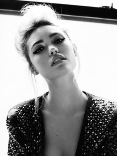 love the jacket. Cora Keegan by Frida Marklund for Fashion Gone Rogue