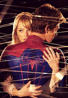 The Amazing Spiderman (2012) Peter and Gwen 2