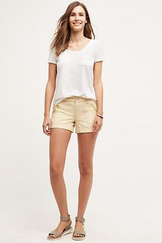 PILCRO LINEN SHORTS GOLD 8 SNEAKERS https://api.shopstyle.com/action/apiVisitRetailer?id=517328621&pid=uid3481-23865059-61