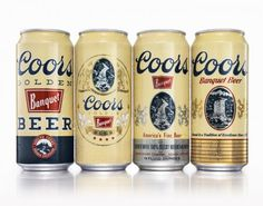 Coors Banquet Heritage Cans