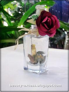 DIY mini #adorno #reciclaje #perfume