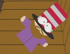 Mr. Hat Eric Cartman, Creek South Park, Cool Animations, Nativity, My Favorite Things, The Originals, Hat, Cursed Images, Kitchen Sink
