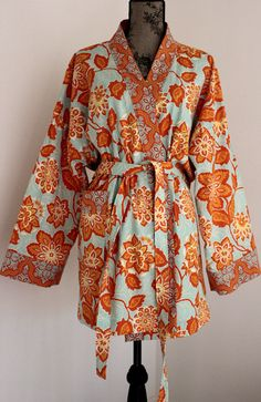 Classic  Robe  Bath Robe  Ready to ship for the Holiday by ORTUPES, $69.00