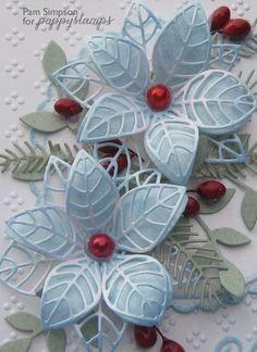 Blue Poinsettias..