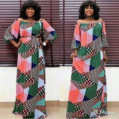 Items similar to African Print Ankara Kente Dress on Etsy African Print Dresses, African Print Fashion, Africa Fashion, African Fashion Dresses, African Attire, African Wear, African Women, African Dress, Ankara Maxi Dress